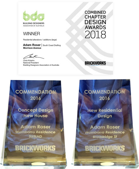 combined chapter design awards